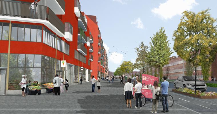 Gamlestaden - Bostäder mm i kv Makrillen