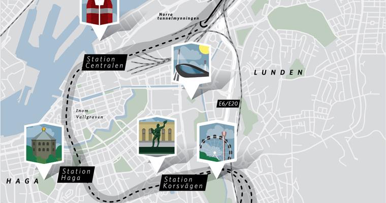 Västlänken - järnvägstunneln