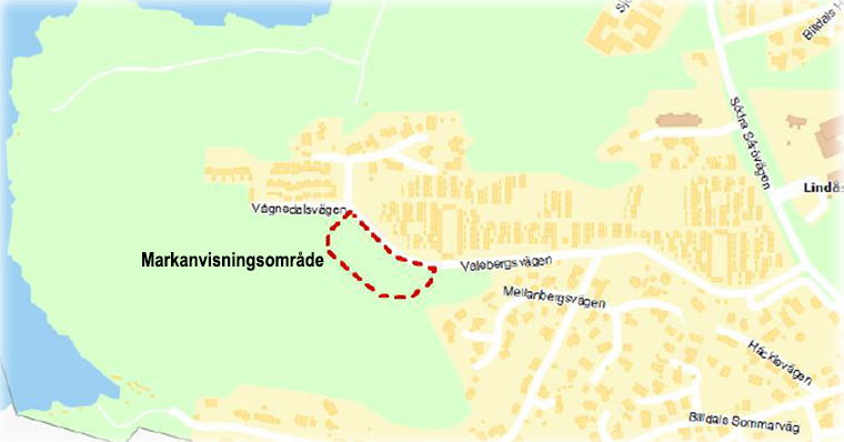 Billdal - Markanvisning för bostäder vid Valebergsvägen i Lindås