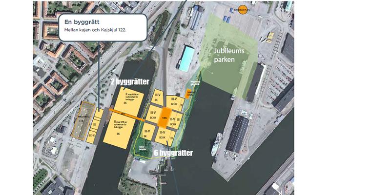UTHYRES - Nio byggrätter för temporära bostäder, mitt i Göteborg