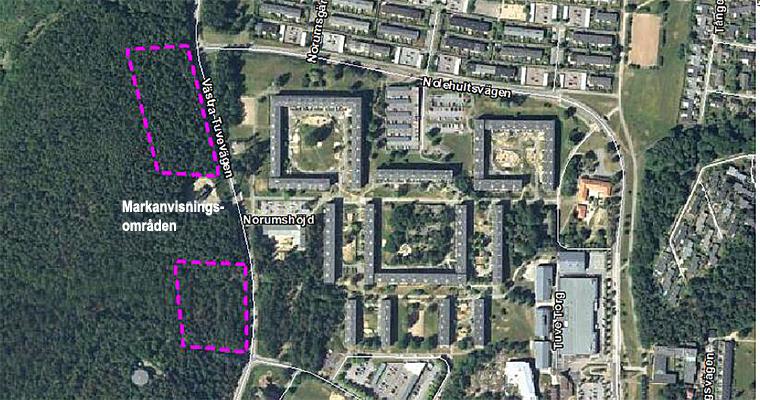 Tuve - Markanvisning för bostäder vid Västra Tuvevägen och Glöstorpsvägen