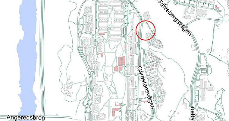 gårdsten göteborg karta Gårdsten   Bostäder vid Pimpinellagatan   Plan  och byggprojekt  gårdsten göteborg karta